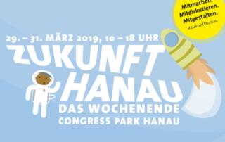 Ausschnitt aus dem Programmheft Zukunft Hanau