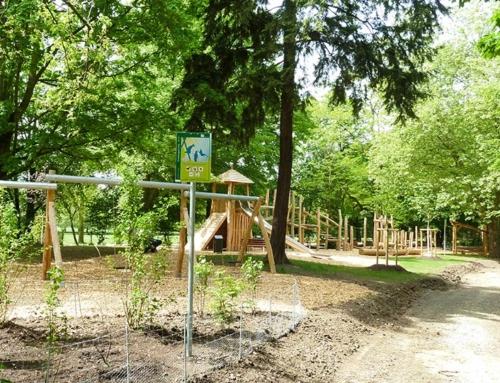 Weiterer Spielbereich im Grüneburgpark