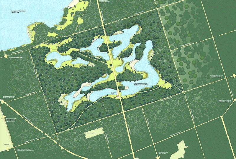 Entwurf Südosterweiterung 2011