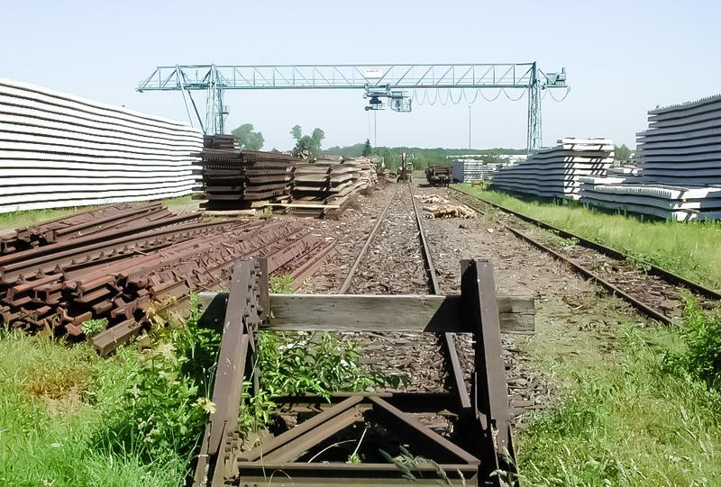 Ehemalige Gleisanlagen
