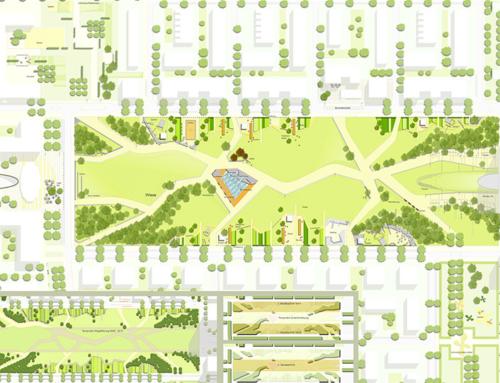 Beitrag zum Realisierungswettbewerb – Europagarten im Europaviertel West, Frankfurt