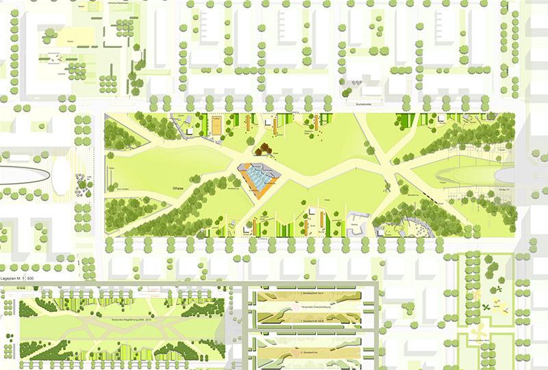 Beitrag zum Realisierungswettbewerb – Europagarten im Europaviertel West, Frankfurt am Main
