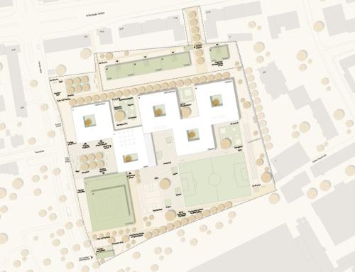 Neubau der Kreuzschule in Regensburg