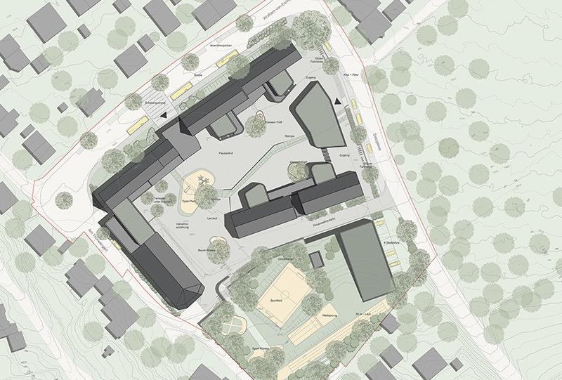 Plan Grundschule Miltenberg