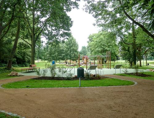 Eröffnung des Kernbereichs im Bürgerpark