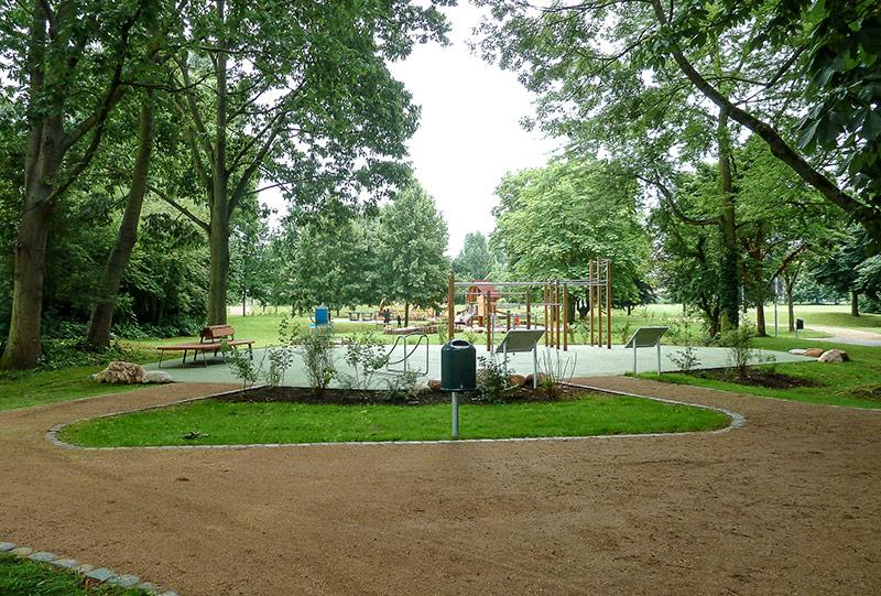 Mühlheim am Main - Eröffnung des Kernbereichs im Bürgerpark